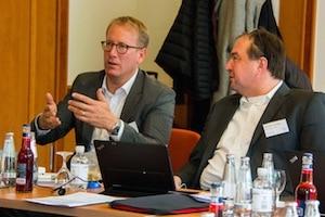v.l.n.r. Sven Wulf und Michael Papenhagen
